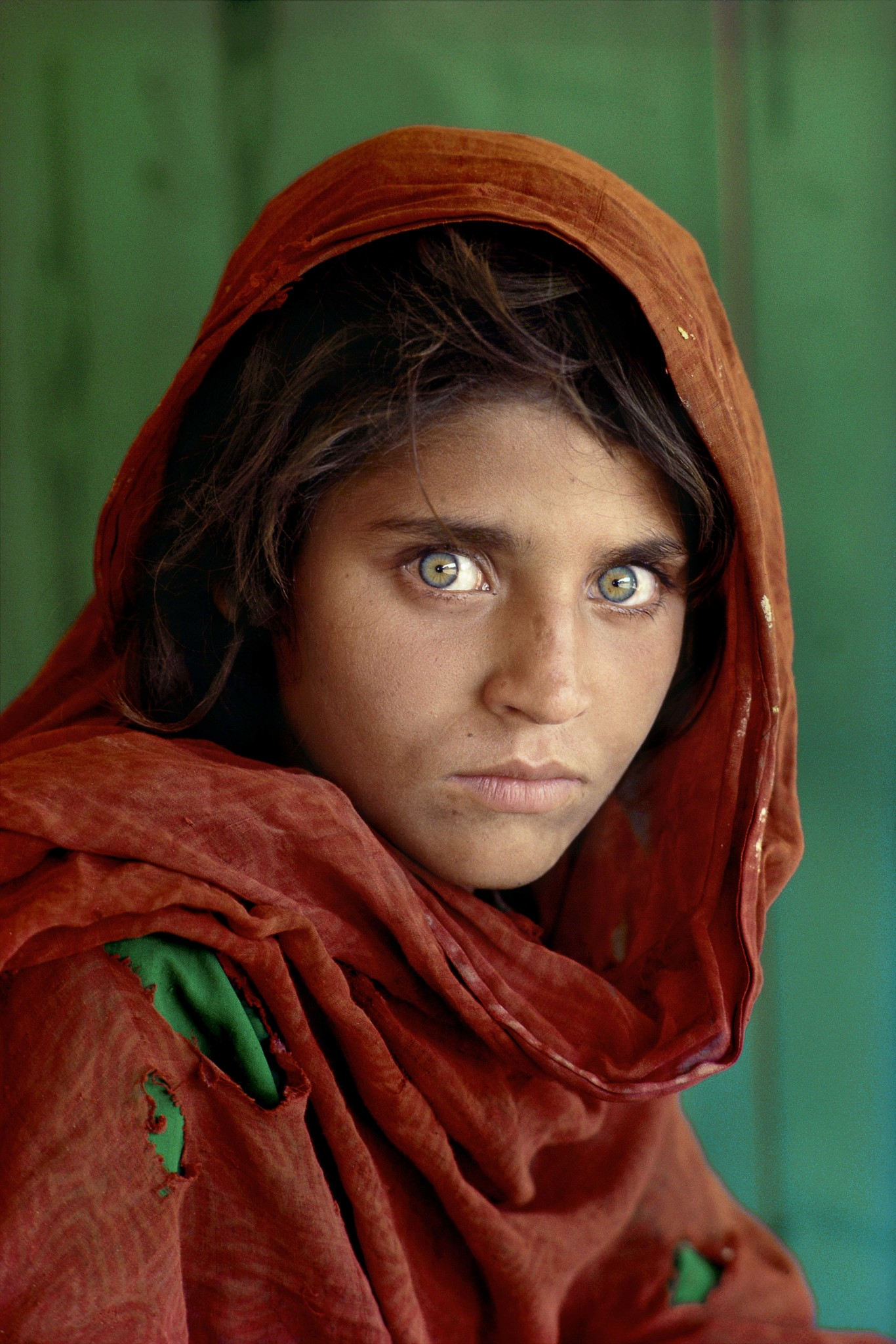 Steve McCurry. Afghan girl