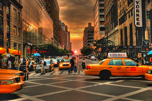 Before Sunset 34th Street, NYC, 1 RAW HDR ©  photomagister