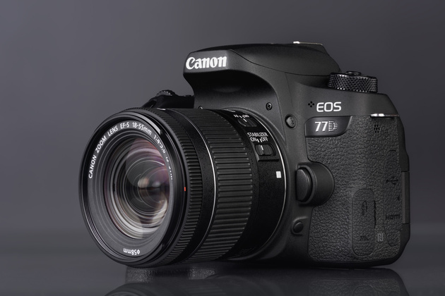 EF-S 18-55mm f/4-5.6 IS STM, установленный на фотокамеру Canon EOS 77D