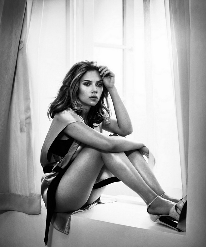 Scarlett Johannson by Vincent Peters