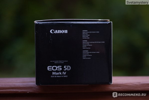 Canon EOS 5d mark iv фото